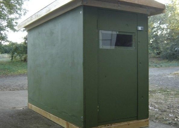 Refugio portátil para las personas sin hogar