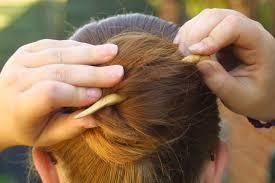 2 Quick Chinese Bunstick Bun Hairstyles