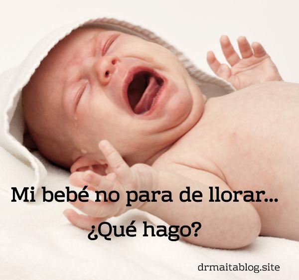 10 consejos para calmar a tu bebé, cuando no para de llorar