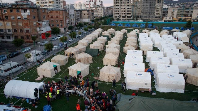Μήνυμα του ΚΚΕ προς το ΚΚ Αλβανίας για τον καταστροφικό σεισμό