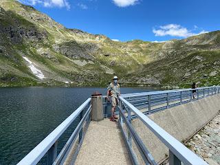 The dam on Lago Cernello