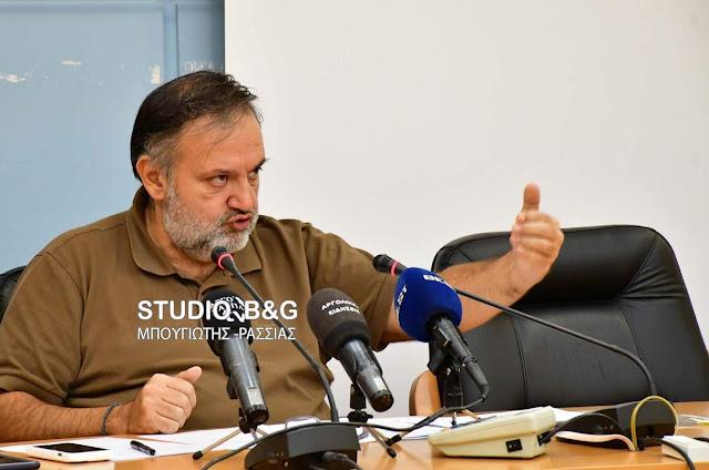 Παρατηρήσεις Χειβιδόπουλου για την προμήθεια των προκάτ αιθουσών για σχολεία της Αργολίδας