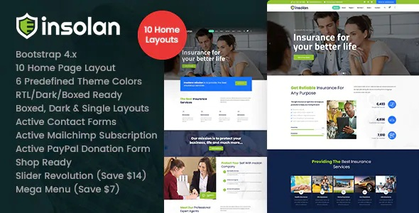 Best Insurance Agency HTML Template