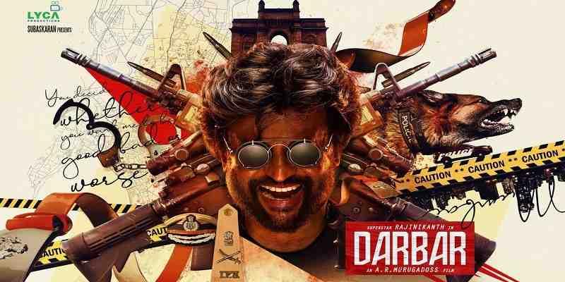 Darbar Hindi Collection Poster