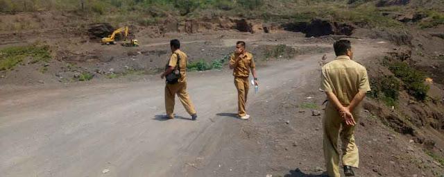 Penelusuran DLH, Aktivitas Pengerukan Pasir di Doro Ncanga Terjadi Siang-Malam