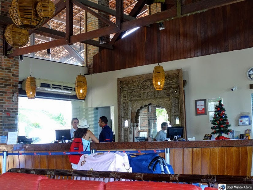 Recepção do D Beach Resort em Natal