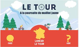 http://education.francetv.fr/matiere/sport/cinquieme/jeu/le-tour-a-la-poursuite-du-maillot-jaune