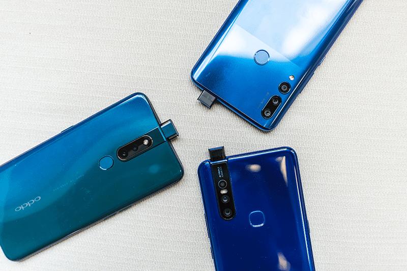 Huawei Y9 Prime 2019 vs OPPO F11 Pro vs Vivo V15 Specs Comparison, pop-up cam battle!