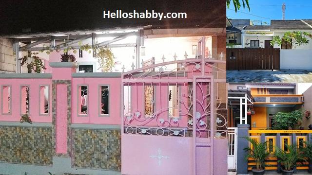 6 Inspirasi Cat Pagar Tembok Rumah Yang Bagus Untuk Rumah Minimalis Helloshabby Com Interior And Exterior Solutions