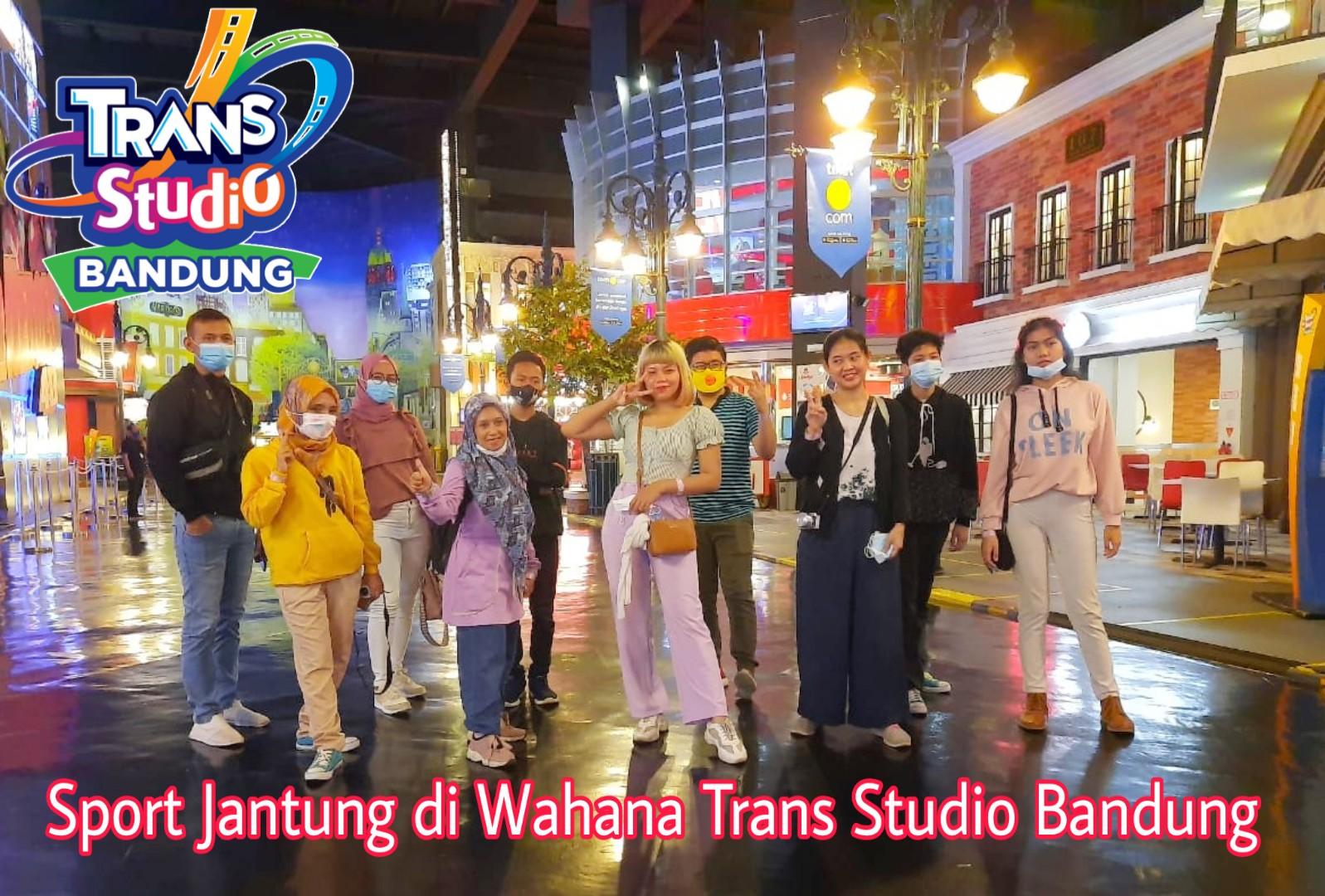 Sport Jantung di Wahana Trans Studio Bandung