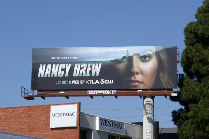 Nancy Drew series premiere billboard