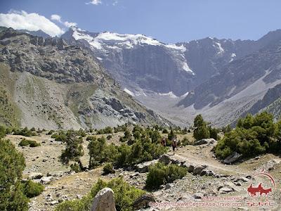 Heartland of the Fann mountains