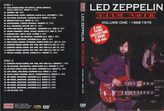 Led Zeppelin Film Noir Vol.1+2+Bonus Disc 5 DVD's (DVDRIP)