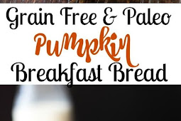 Simple Paleo Pumpkin Bread