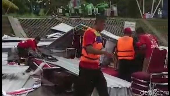 Tenda Ambruk, Lomba Lukis Puan Maharani di Solo Batal