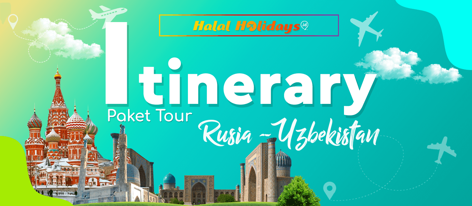 Itinerary Paket Tour Rusia Uzbekistan 2020 10 Hari