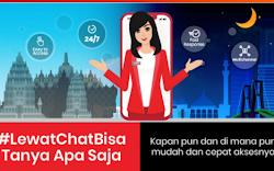 Tanya Veronika Asisten Virtual Untuk Customer Telkomsel