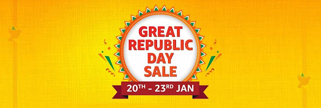 Amazon Great Republic Day Sale is here: up to 40% off on Mobiles, and up to 60% off on Electronics and Accessories | TechNeg