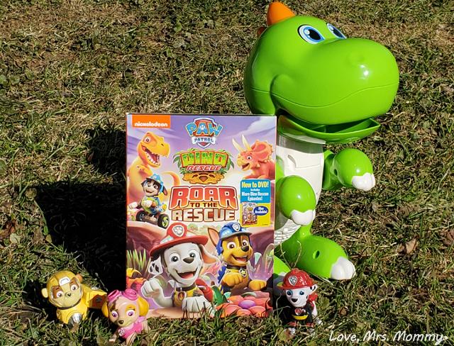 Paw Patrol, Paw Patrol Dino Rescue, Roar to the Rescue, Paw Patrol DVD, Paw Patrol Dino DVD, Dinosaur DVD