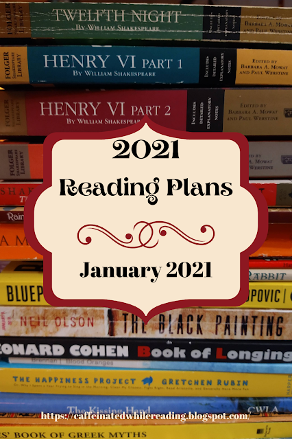 2021 Reading Plans and Setting Up My Reading Journal