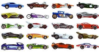 Xe Hot Wheels căn bản 2