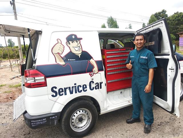 Suzuki Service Car Palembang Sumsel