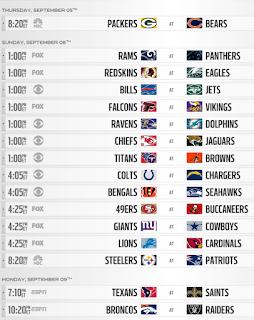 NFL Week 1 Pick'em