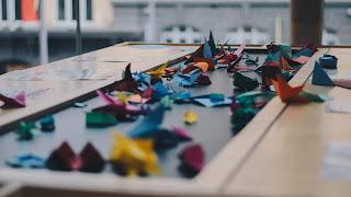 origami, zycie proste