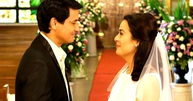 Richard Gomez And Dawn Zulueta S Wedding In Walang Hanggan Photos Showbiznest