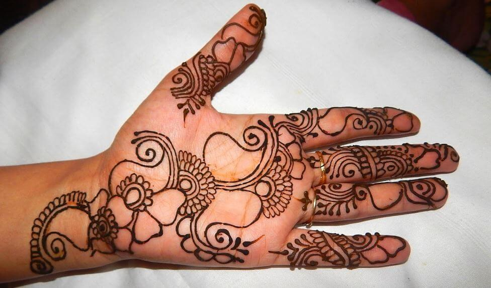 Mehndi For Girls Easy : Latest mehndi designs for girls simple easy page