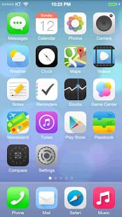 iLauncher (iOS Launcher) Apk Terbaru