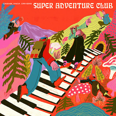 """Casablanca Drivers respire la joie de vivre estivale et le soleil avec l'album """"Super Adventure Club"""""""