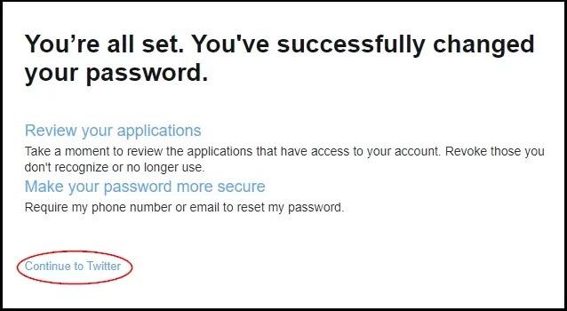 Twitter Ka Password Reset Kaise Kare