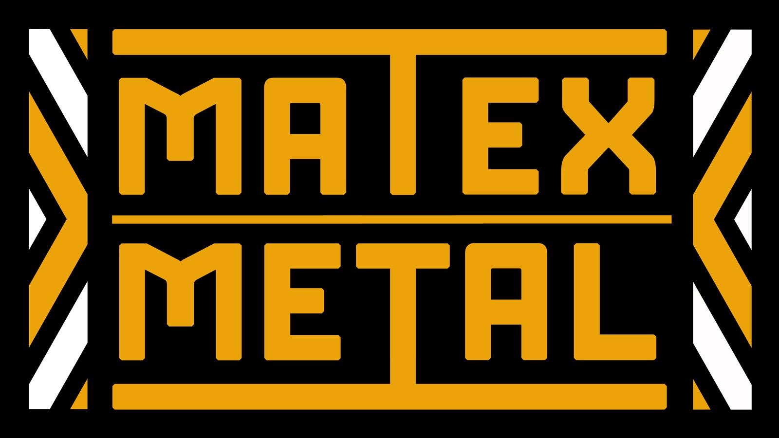 Logo dla firmy Matex Metal. Grafika, logo, logotyp, identyfikacja wizualna