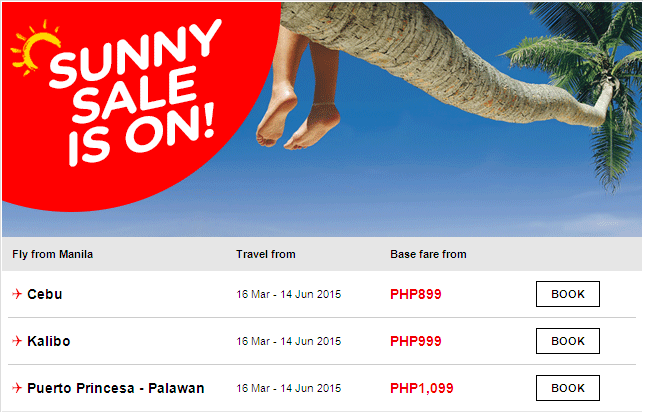 AIR ASIA Airlines: Amazing summer deals 2015!