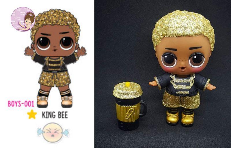 LOL Surprise BOY Series RARE King Bee