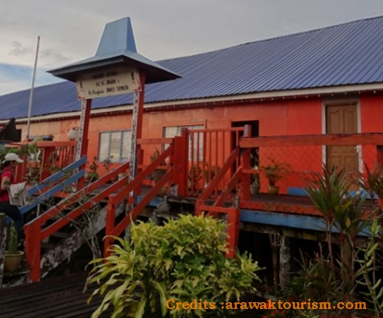 Bawang Assan Iban Longhouses, Sibu Sarawak