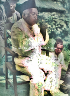 raja dolog silou memainkan sarunei di bataklands