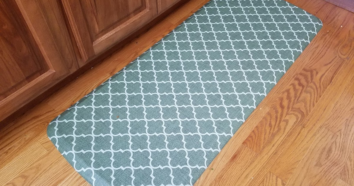 Shock Absorbing Kitchen Floor Mat