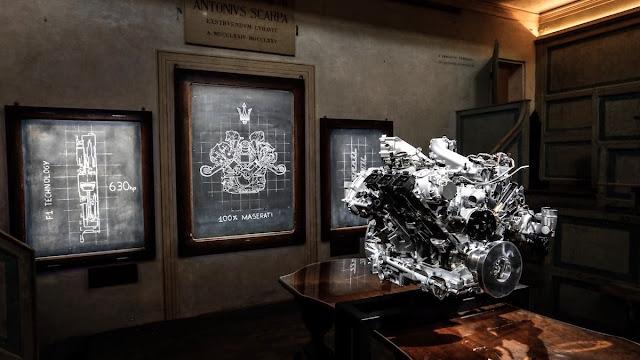 マセラティMC20 エンジン