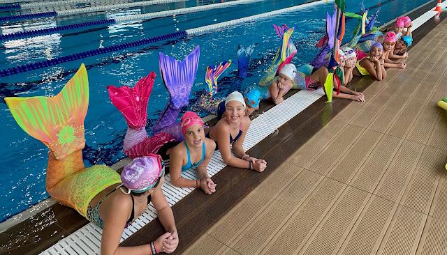 Άργος: Μικρές γοργόνες εμφανίστηκαν στο κολυμβητήριο