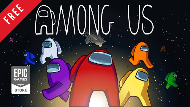among us free pc game epic games store 2018 multiplayer social deduction impostor crewmate spaceship game cross-platform play innersloth