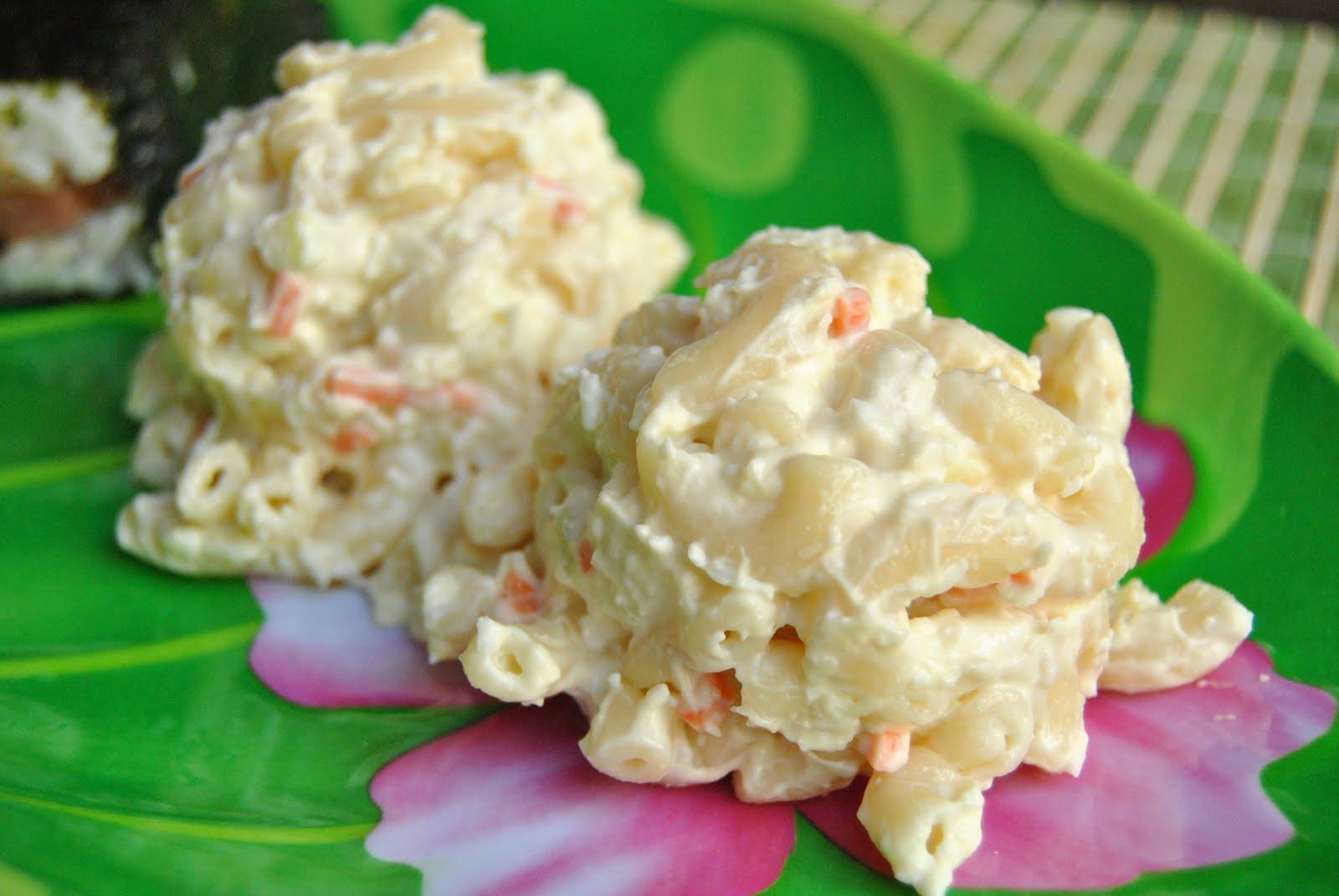Hawaii Potato Mac Salad Recipe