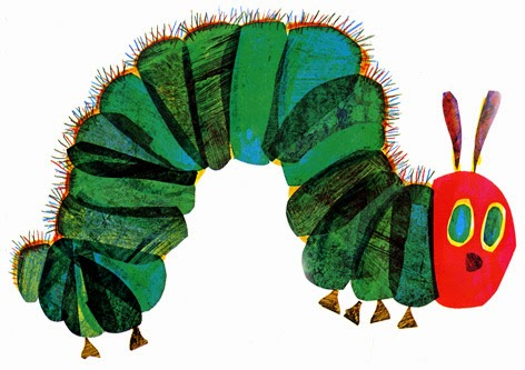 Book Design - Cover to Cover: The Very Hungry Caterpillar |Hungry Caterpillar Book