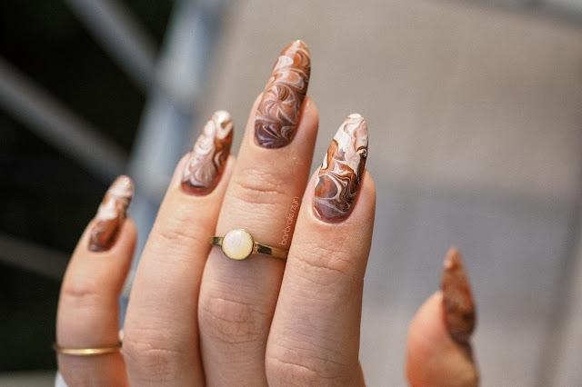 coffe nails