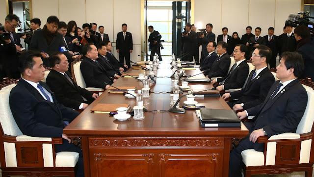 Βόρεια - Νοτια Κορέα: Ξεκίνησαν επίσημες συνομιλίες μετά από 2 χρόνια