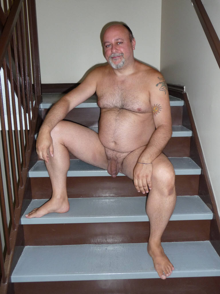 Mature big daddy nude consider, that