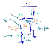 طرق انحياز الترانزستور