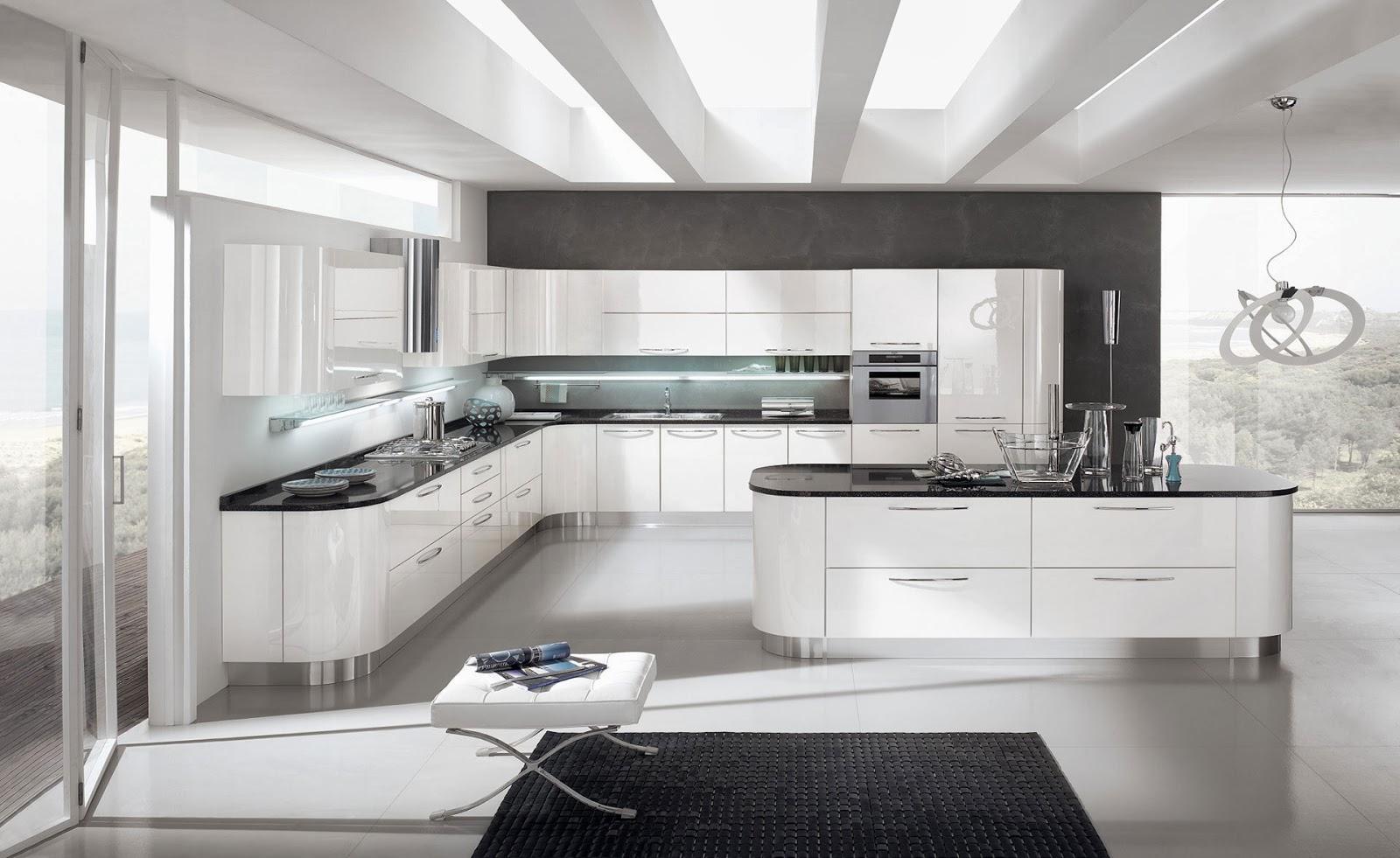 Cocinas descaradamente abiertas  Cocinas con estilo