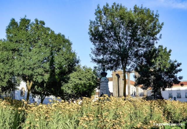 Jardim de Diana e Templo Romano, Évora